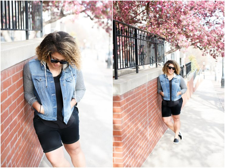 Lucky Brand Jacket with Sam Edelman Leather crocodile sneakers